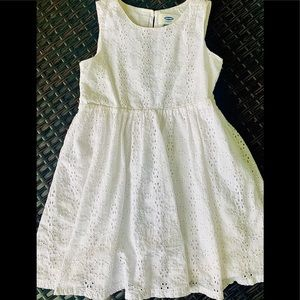 Other - New white lace dress cinch waste 5t